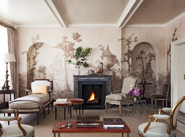 20 Interior Designs Featuring Wall Murals | InteriorHolic.