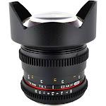 Rokinon CV14M-N Wide-Angle Lens for Nikon F - 14mm - T/3.1