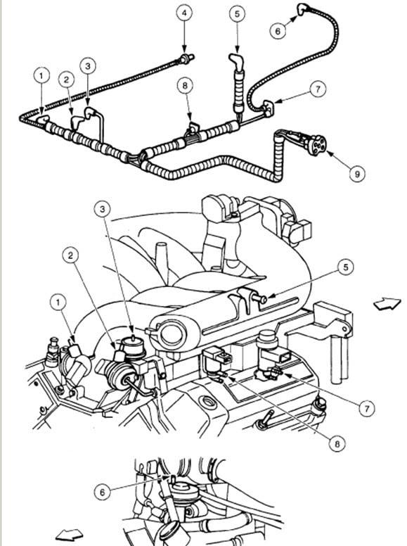 1998 Ford f-150 engine schematic