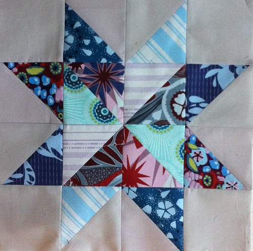 Extra star block for VIBees quilt