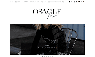 Oracle Minimal Blogger Template