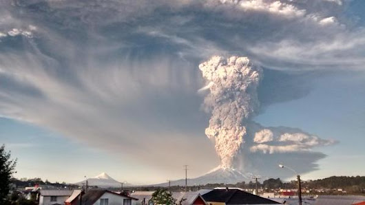 Explore Photos of Chile's Volcano Calbuco Eruption Occurred After 42 Years