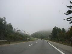 Fog in Upstate New York