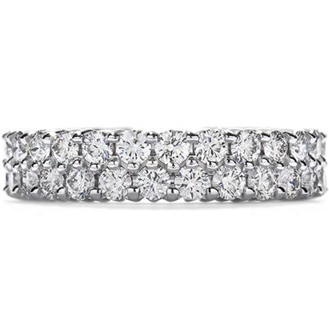 Double Row Eternity Band Right Hand Ring