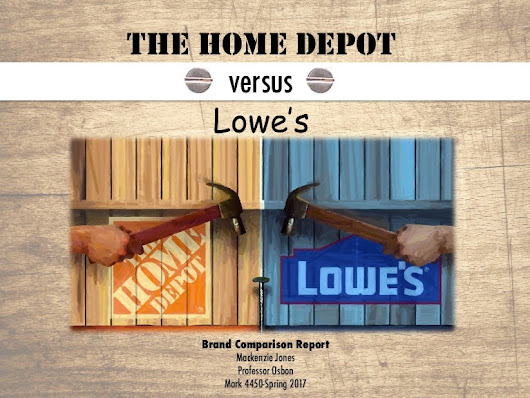 The Home Depot versus Lowe's Brand Comparison