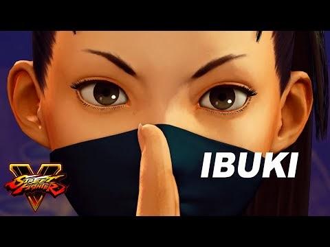 شخصية Ibuki ستضاف للعبة street fighter v ، شاهد الإعلان