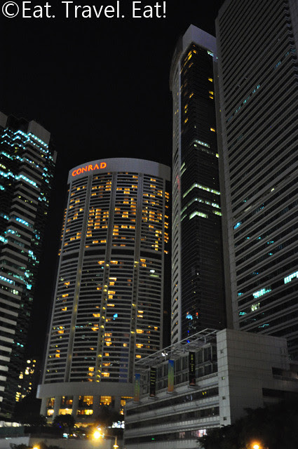 Nighttime view of Pacific Place