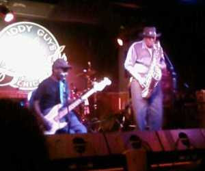 <em>Eddie Shaw and the Wolfgang</em> at Buddy Guy&apo;s Legend