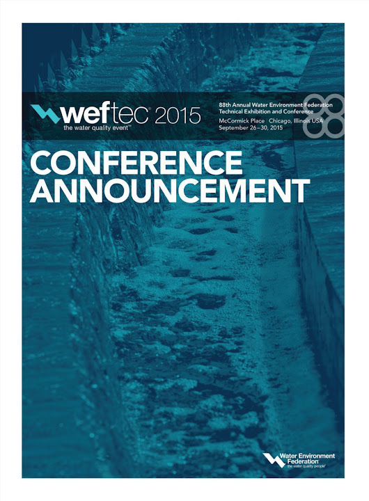WEFTEC 2015 Conference Announcement
