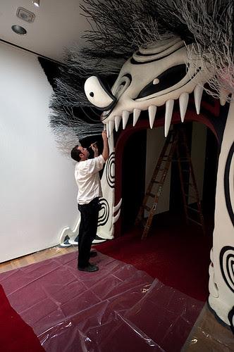Tim Burton at Moma by joe holmes