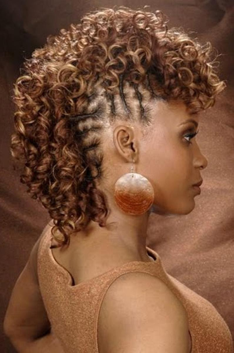 Braided Mohawk Hairstyles With Curls Bpatello