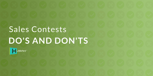 Sales Contests Do's and Don'ts | Blog CRMGamified