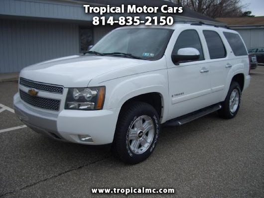 Used 2007 Chevrolet Tahoe for Sale in Erie PA 16505 Tropical Motor Cars