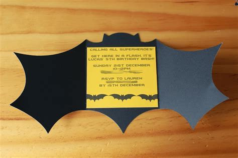 Batman Birthday Invitations Templates Ideas : Batman and