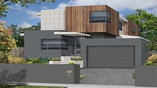 Buat Testing Doang Contemporary Houses On Narrow Block
