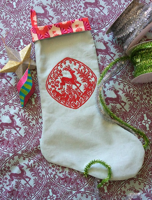 heirloom.stocking