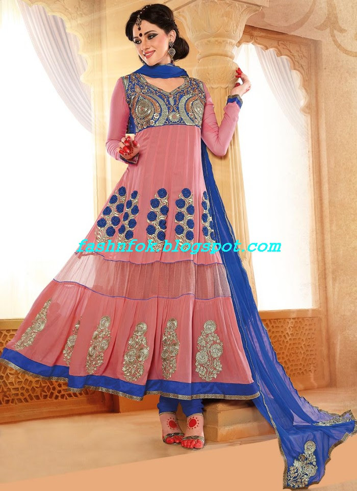 Beautiful-Anakrali-Umbrella-Frock-With-Churidar-Pajama-New-Fashion-Suits-2013-14-by-Designer-Amna-8