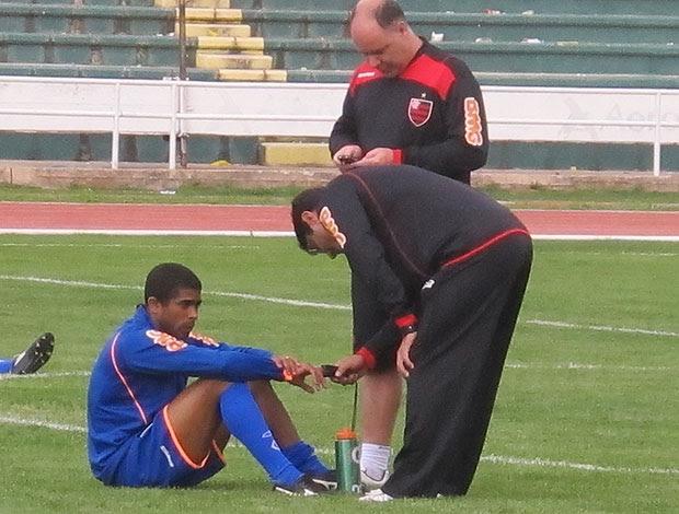 Flamengo médicos altitude (Foto: Richard Souza / Globoesporte.com)