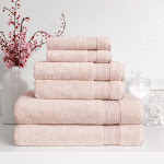 Turkish Towel Company Signature Collection 6-Pc Bath Set - Blush