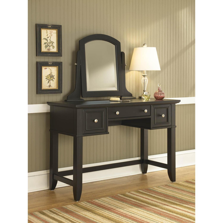 Home Styles Bedford Black Vanity Table by OJ Commerce 5531 ...