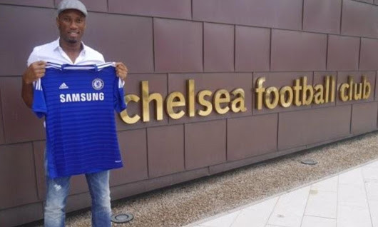 Didier Drogba completes return to Chelsea on one year deal