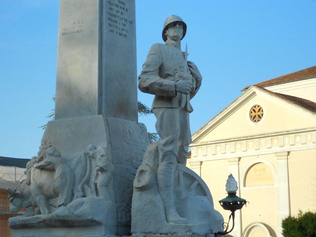 Stanghella, monumento 15-18, Virgilio Milani