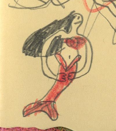 Ava Thursday: The Map (mermaid)