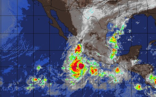 Two Tropical Storms Vicente Willa Cabo San Lucas Mexico Bound #travel #cruise #mexico #weather #hurricane...