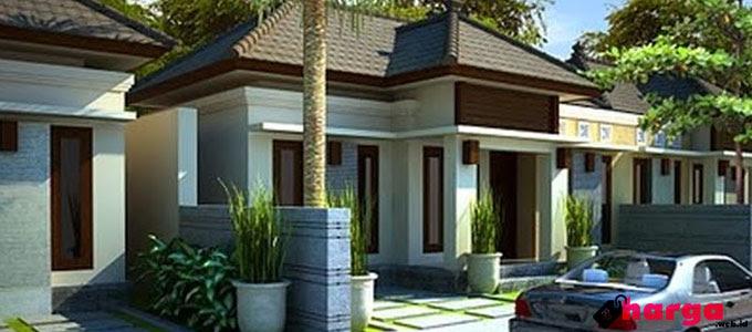 Rumah Tipe 45 Minimalis Disertai Denah Desain Gambar