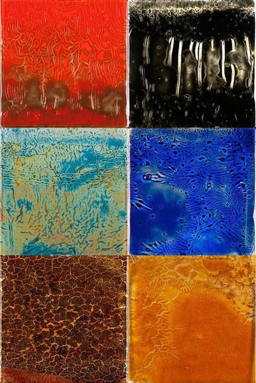 Ann Sacks Aura Glass Tile Collection - incredible color captured ...