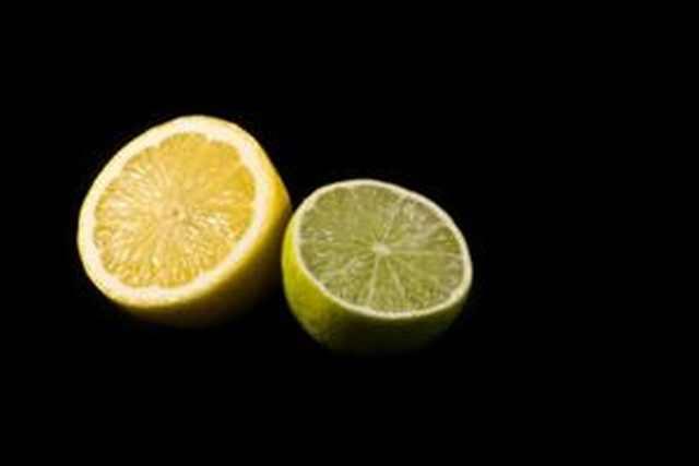 limão e lima