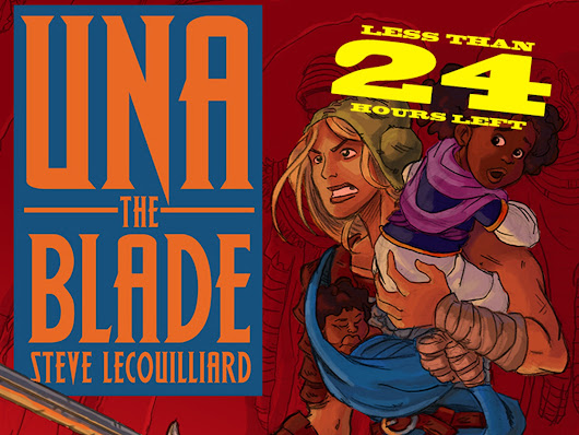Una the Blade by Cloudscape Comics —Kickstarter