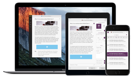 Simple, powerful blog publishing for iPhone, iPad and Mac. Get it free. Join the Private Launch List.