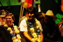 Da Cancun Evo Morales