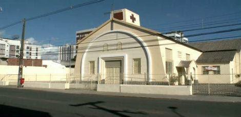 A igreja Nossa Senhora do Bom Parto fica em Campo Grande, Zona Norte do Recife / Reprodução/TV Jornal