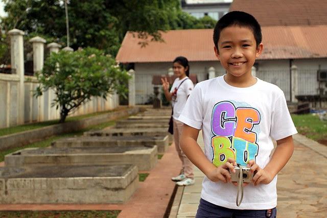 Kids @ Museum Taman Prasasti, Jakarta