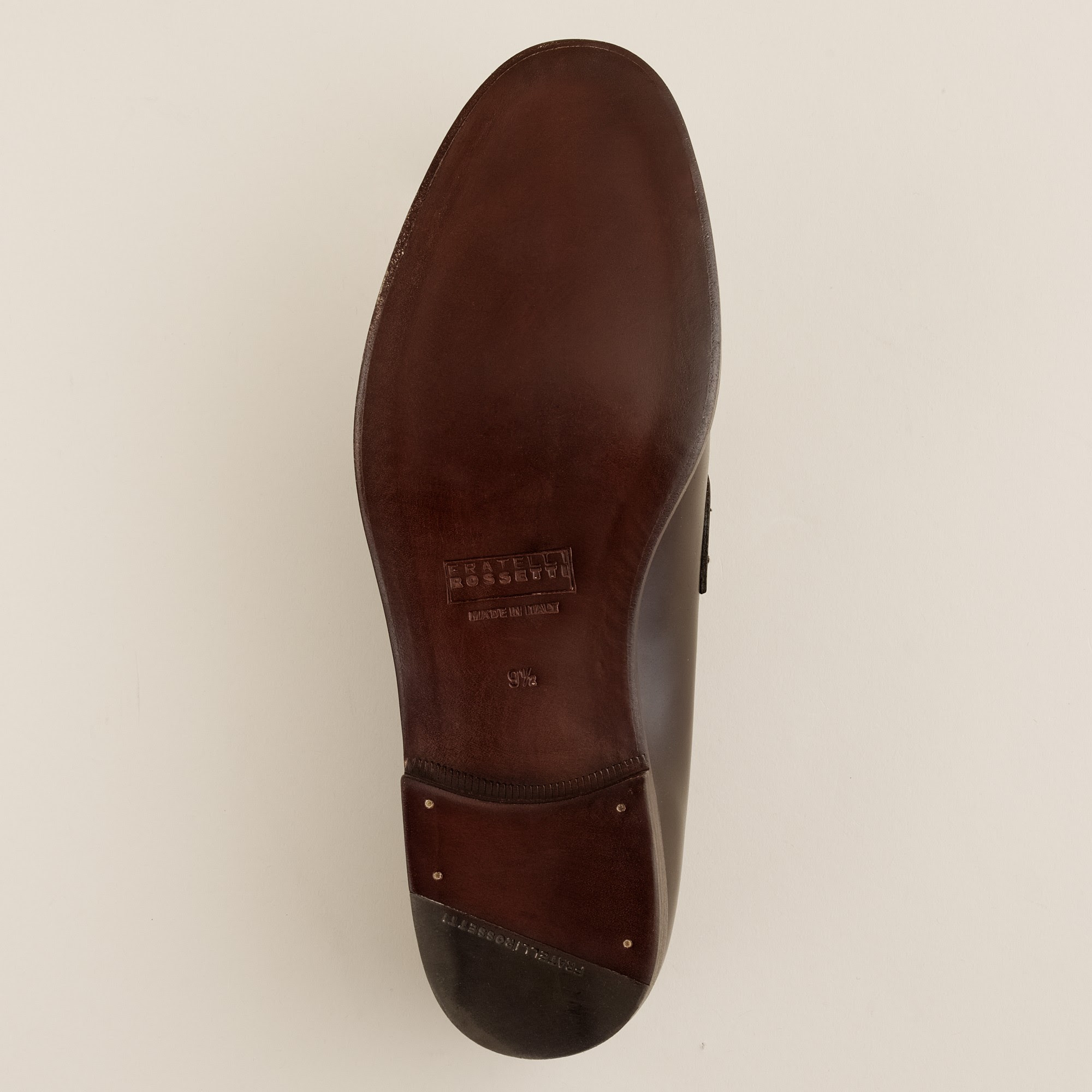 J.crew Fratelli Rossetti S.p.a. Dexter Penny Loafers in ...