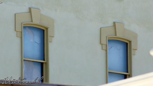 Disneyland Resort, Disneyland, Star Tours, Main Street U.S.A., Windows, Broken