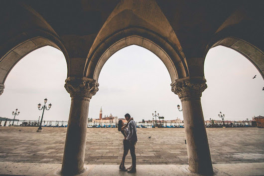 민정 & 재호 | Engagement Photographer Venice | Italy