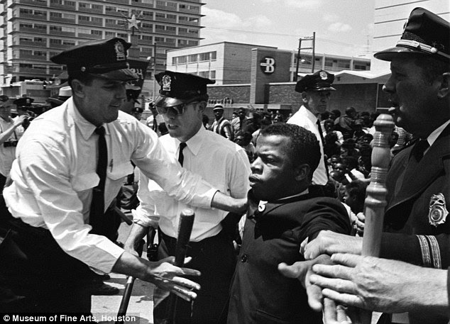 Lewis is among the most revered leaders of the civil rights movement, and has devoted himself to promoting equal rights for African Americans.The pastor of Martin Luther King Jr's church said that the President should learn from Representative Lewis rather than disparage him