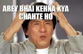 arre bhai aakhir kehna kya chahte ho whatsapp