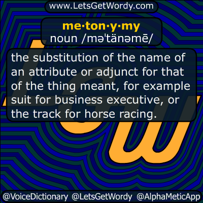 metonymy 04/03/2014 GFX Definition