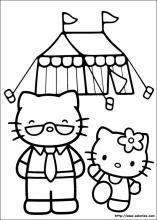 Index Of Imagescoloriagehello Kittyminiature