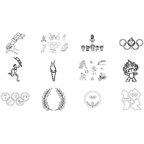 Juegos Olimpicos Para Colorear E Imprimir