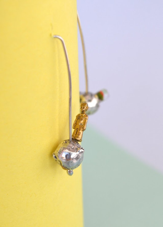 Earrings-The little prince-Lucas Restrepo Henao