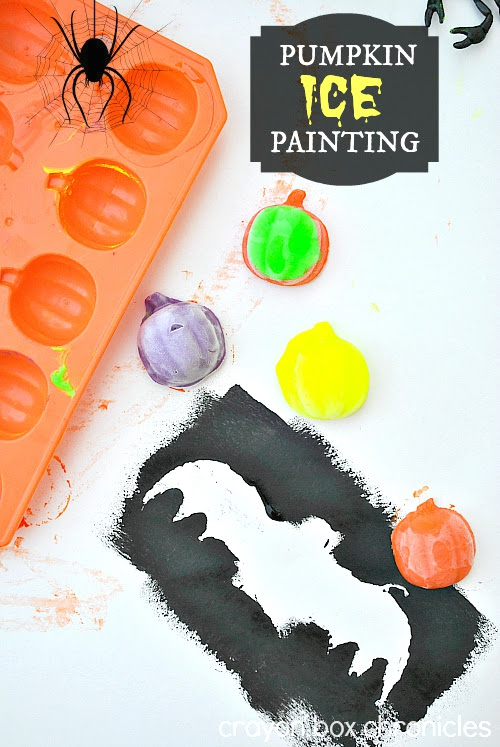 Pumpkin Ice Painting