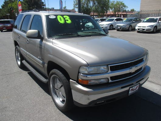 Used 2003 Chevrolet Tahoe 2WD for Sale in Las Vegas NV 89110 RT Motorsports Auto Sales