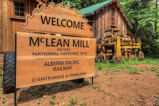A Visit To McLean Mill National Historic Site - Toad Hollow Photography