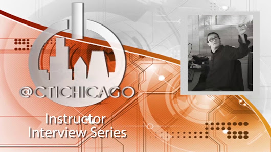 CTIChicago Instructor Interview Series: Adobe Creative Suite Christian Diaz - CTICHICAGO.COM