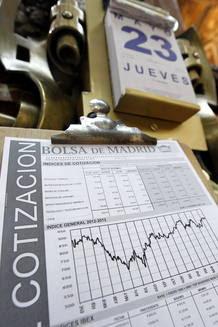 Los títulos de Bankia se dejan en el parqué más de la mitad de su valor